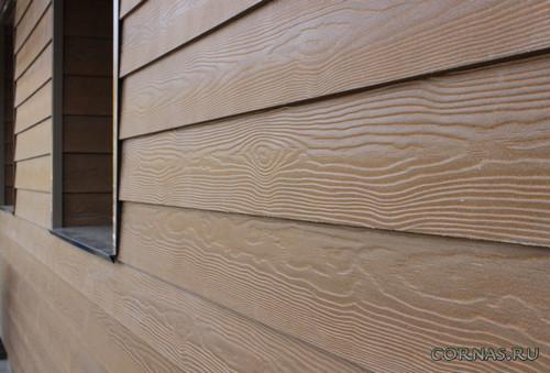 Фиброцементные фасадные панели - виды, особенности, монтаж