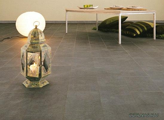 Ламинат под плитку и камень - 25 фото