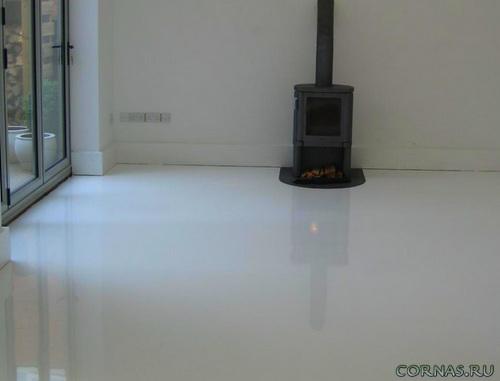Жидкий линолеум: что это и почему он наливной? Фото
