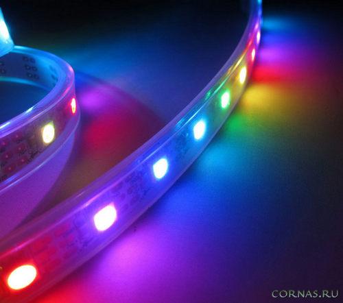 Как выбрать светодиодную ленту: какие бывают виды, мощность и цвет свечения?