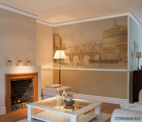Молдинг для стен: не большая, но важная деталь дизайна интерьера!