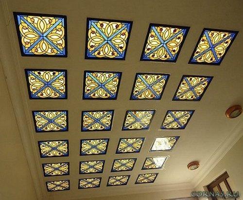 Витражные потолки: какие бывают и в чем их достоинства?