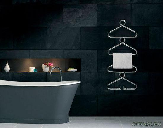 Полотенцесушитель в ванной: фото красивых дизайнерских моделей, виды
