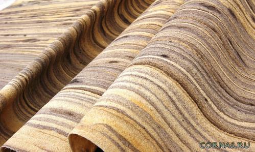 Гибкий камень: необычный материал для интерьера и экстерьера!