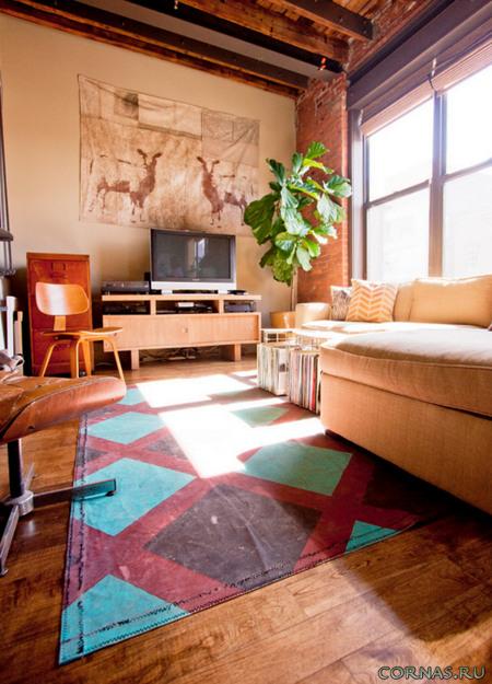 Ковер в гостиной: фото советы, как выбрать и органично вписать в интерьер!
