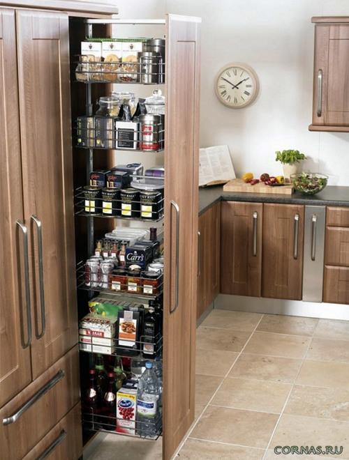 Выдвижные системы для кухни: умный способ организовать пространство!