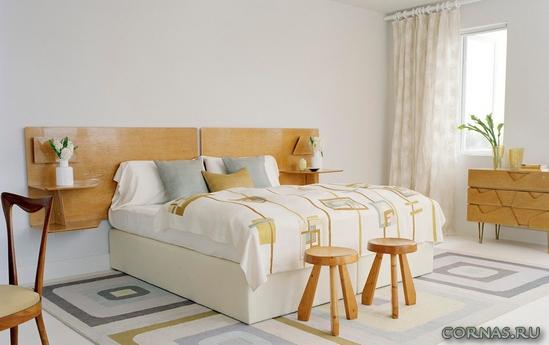 Спальня в экостиле - наедине с природой в собственном доме!