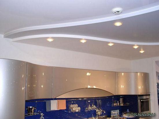 Какой сделать потолок на кухне?