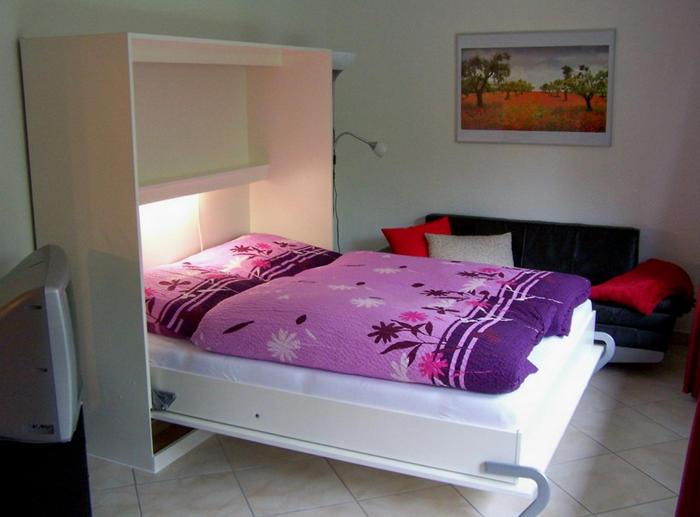 Двуспальная кровать-трансформер