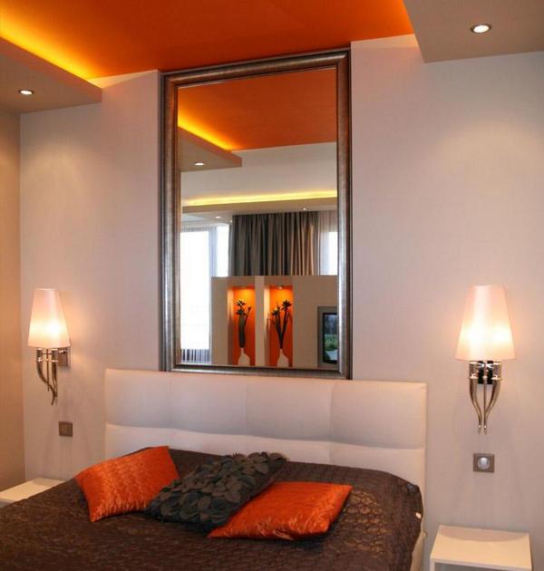 Зеркало в спальне: как разместить правильно? Фото
