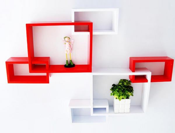 Полки настенные: фото в интерьере оригинальных моделей