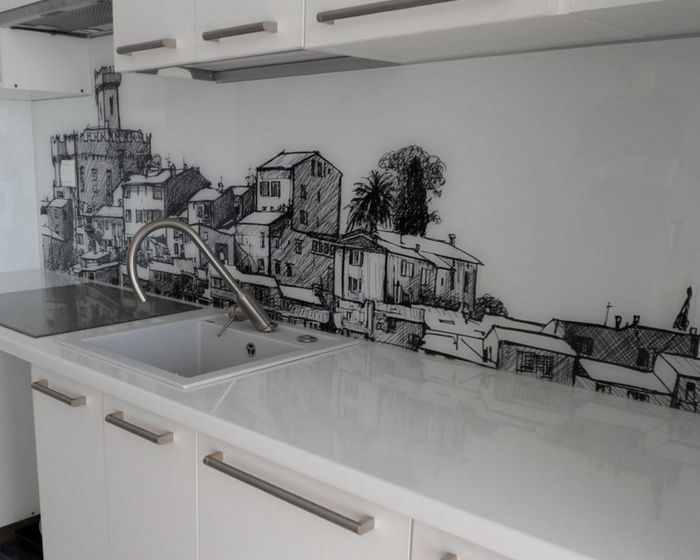 Скинали для кухни: что это такое и 50 фото для идей