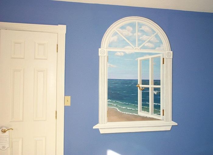 Фальш-окна в интерьере: яркая изюминка для дома