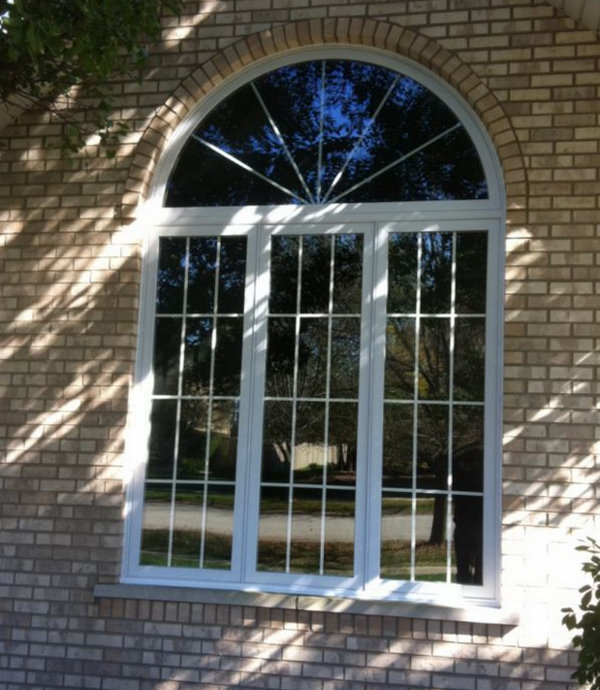 Арочные окна: благородный архитектурный и интерьерный элемент