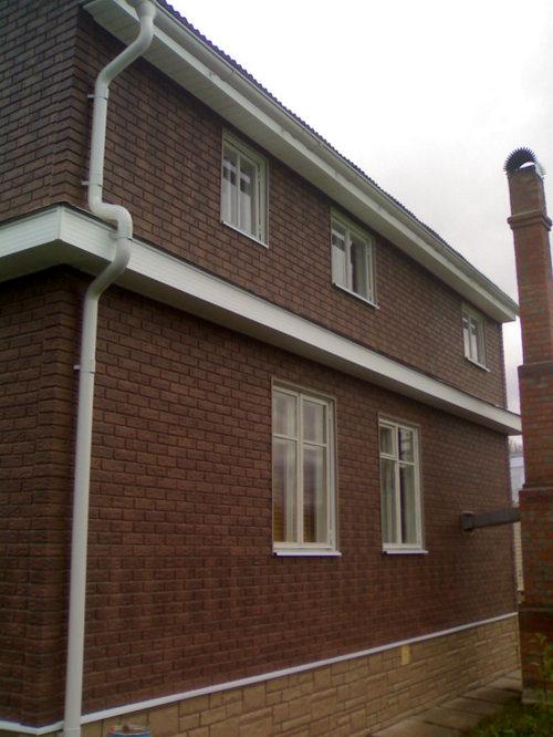 Фасадные панели под кирпич