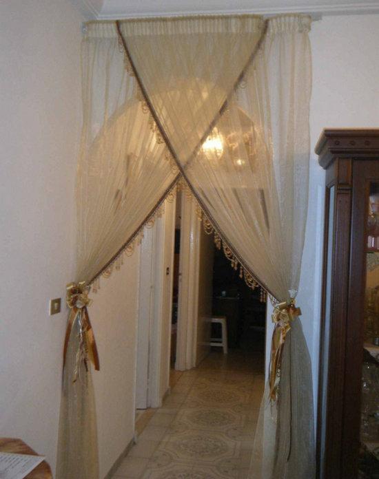 шторы для межкомнатной арки фото интерьер, разглядите каждую