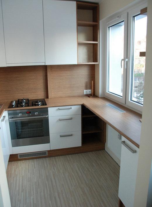 Кухонный гарнитур для маленькой кухни: фото и рекомендации