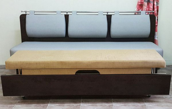 Мини диваны со спальным местом: 30 фото
