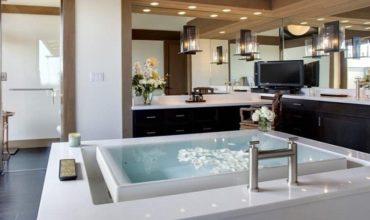 Дизайн ванной комнаты + 100 фото идей 2021