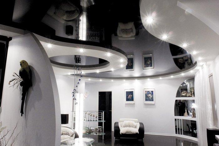 Натяжные потолки фото: 76 идеи