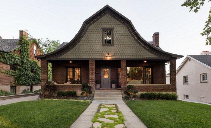 Загородный дом: фото снаружи и внутри