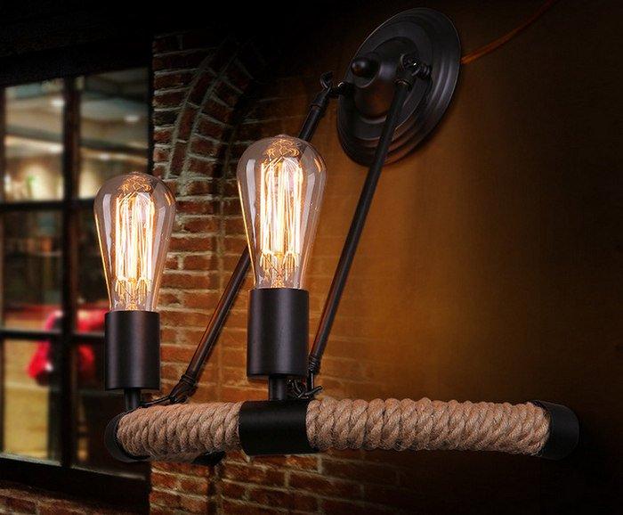 Настенные светильники лофт