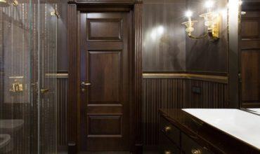 Межкомнатные двери из массива дерева фото 1