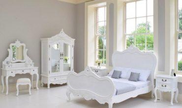 Белый спальный гарнитур - фото -3