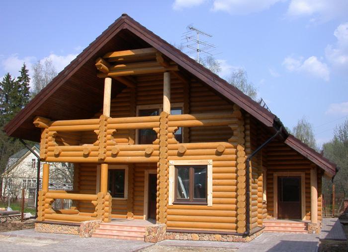Деревянный дом фото