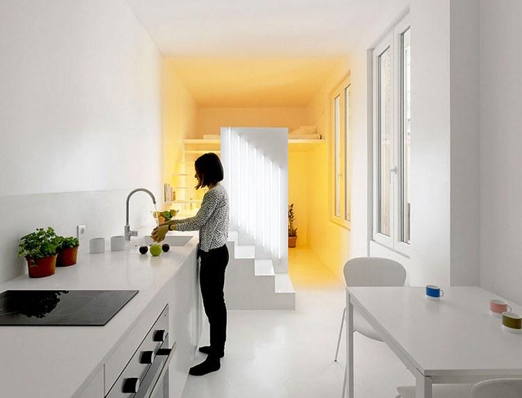 Дизайн кухни гостиной 20 кв.м фото