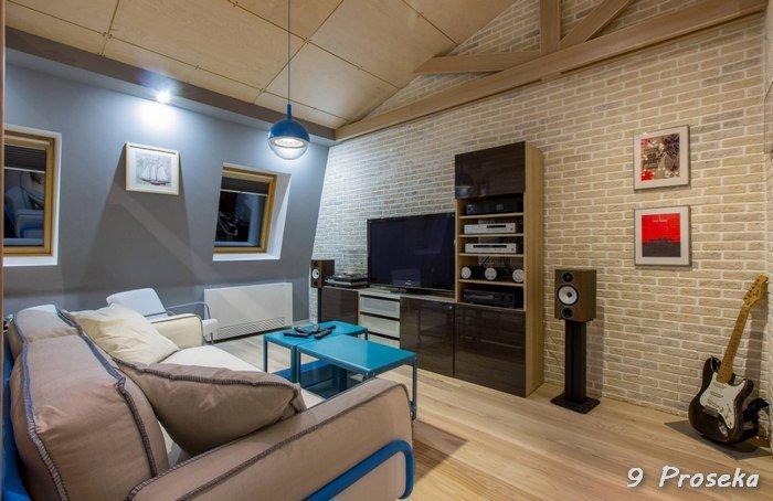 Мансардный этаж: фото живых интерьеров от ведущих дизайнеров