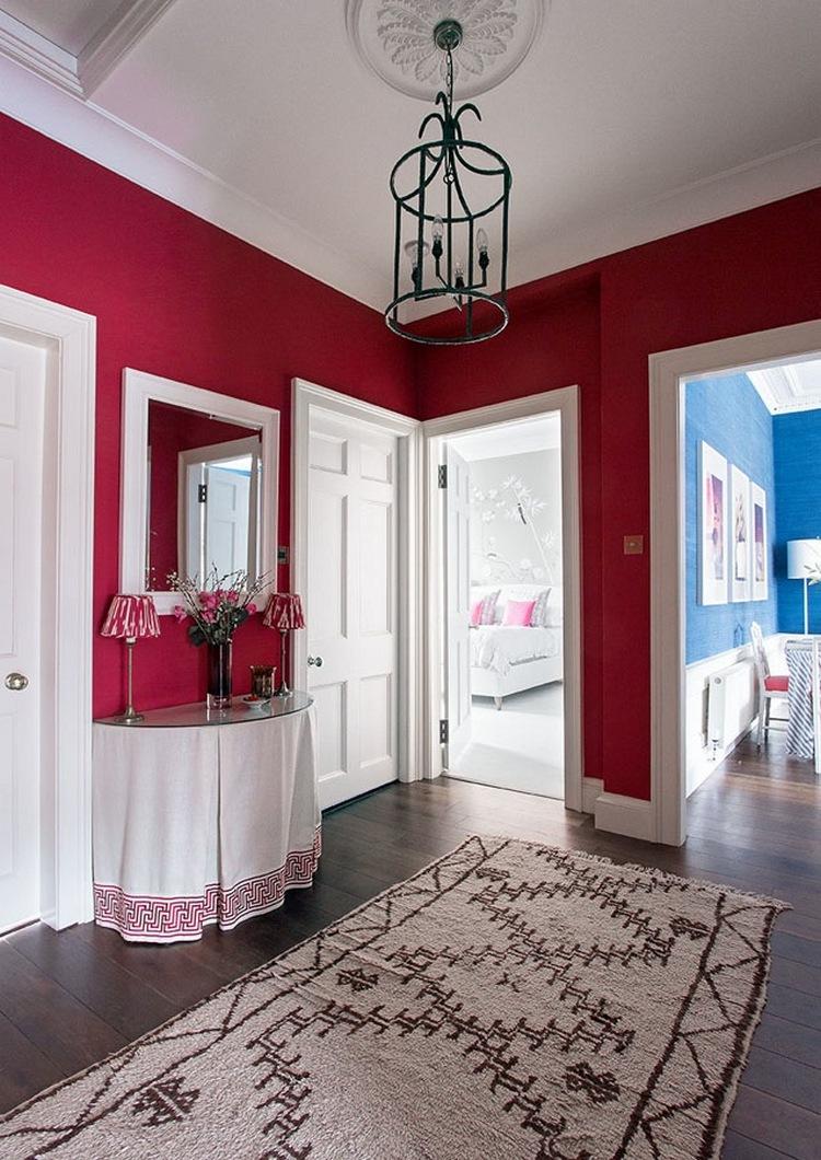 Разноцветный интерьер квартиры в Эдинбурге