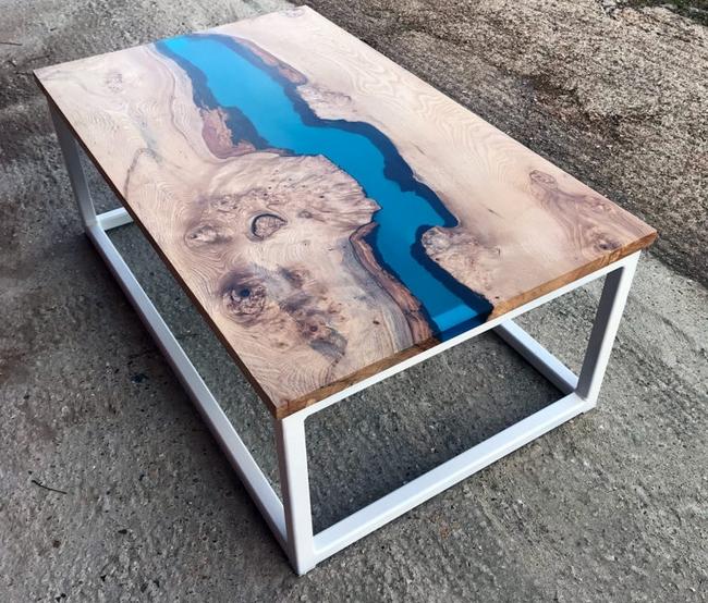 Мебель из эпоксидной смолы удивляет!!!