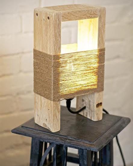 18 светильников из дерева от людей с большой фантазией