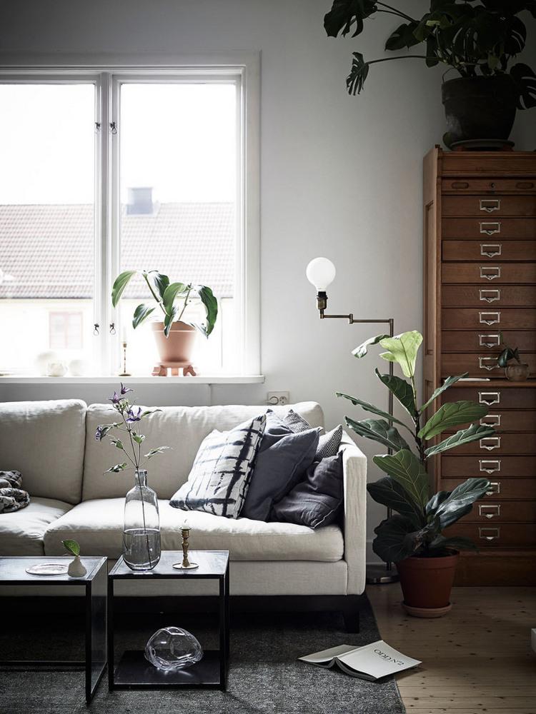 Монохромный интерьер - фото от Jonas Berg