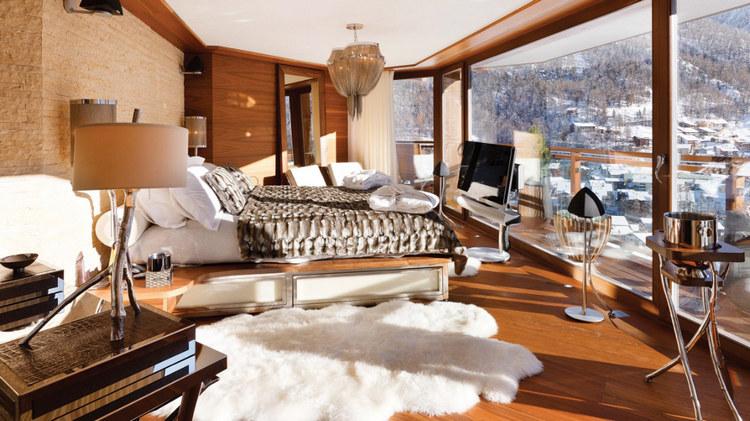 Zermatt Peak - роскошная вилла для отдыха в Альпах