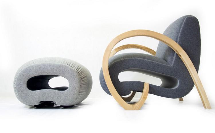 Потрясающие кресла из гобелена от Paco Tourté