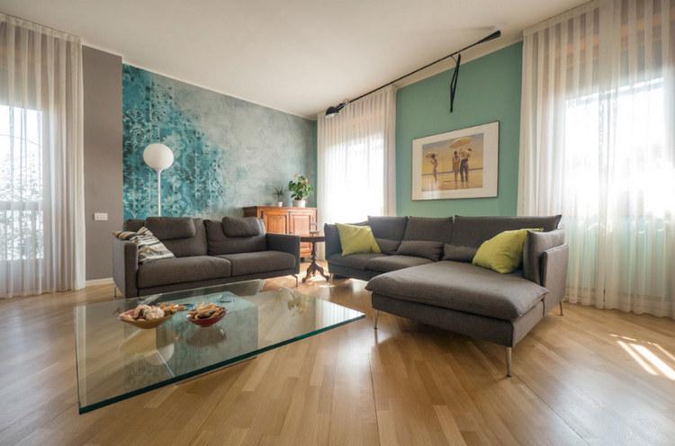 Квартира в Милане от LiaDesign