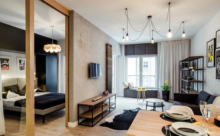 Дизайн квартиры-студии - фото новейших проектов!