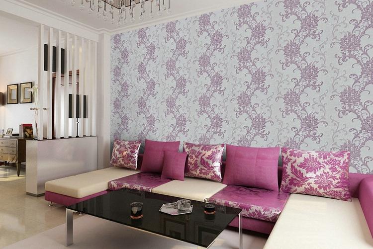 Отделка стен тканью - фото уютная драпировка для интерьера.