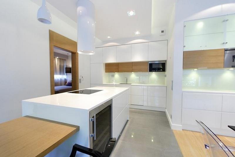 Белая кухня - 110 фото светлого дизайна