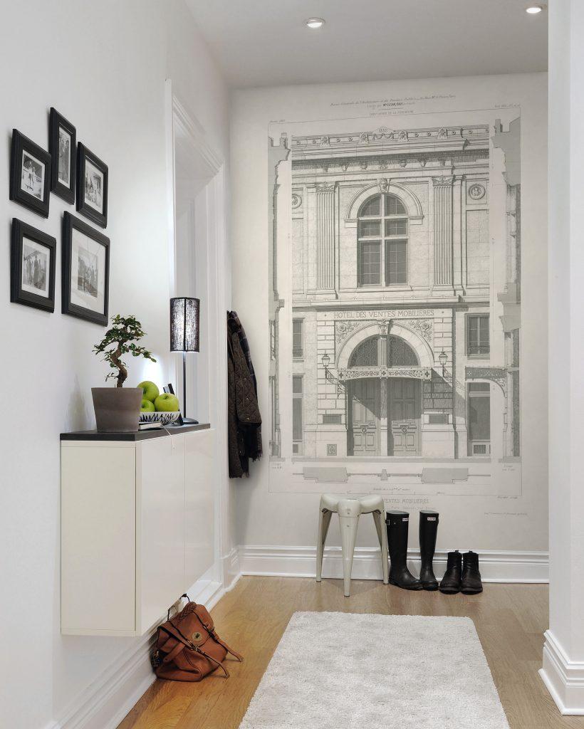 Белая прихожая - 120 фото дизайна