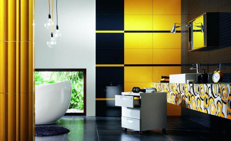 Дизайн интерьера ванной комнаты 101 фото