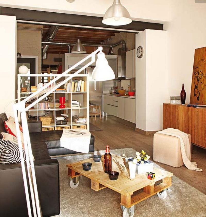 Дизайн квартиры студии 30 кв.м. фото однокомнатной планировки