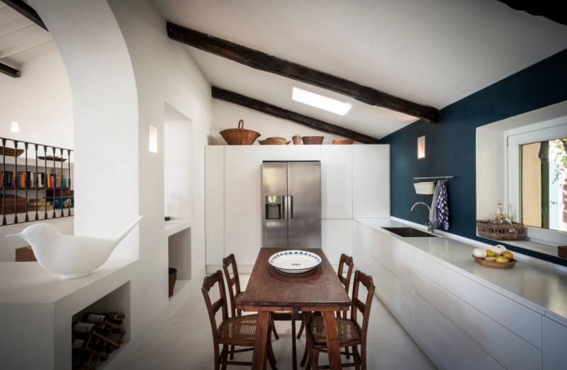 Встроенная кухня - фото дизайнерских проектов