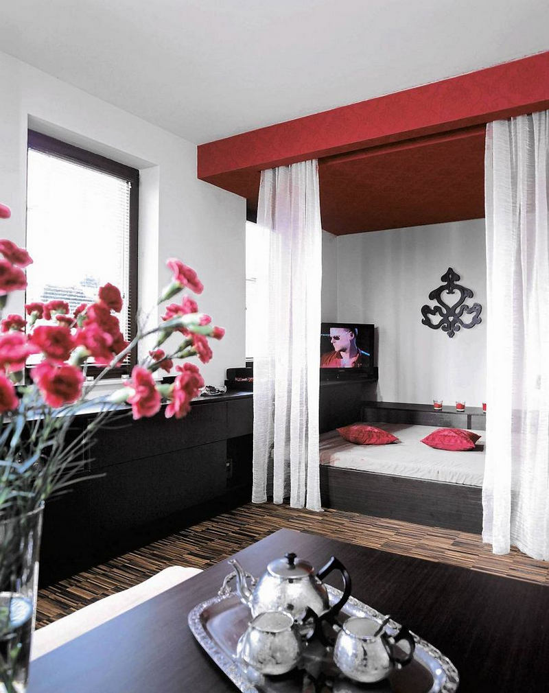 Зонирование гостиной - 100 фото дизайна