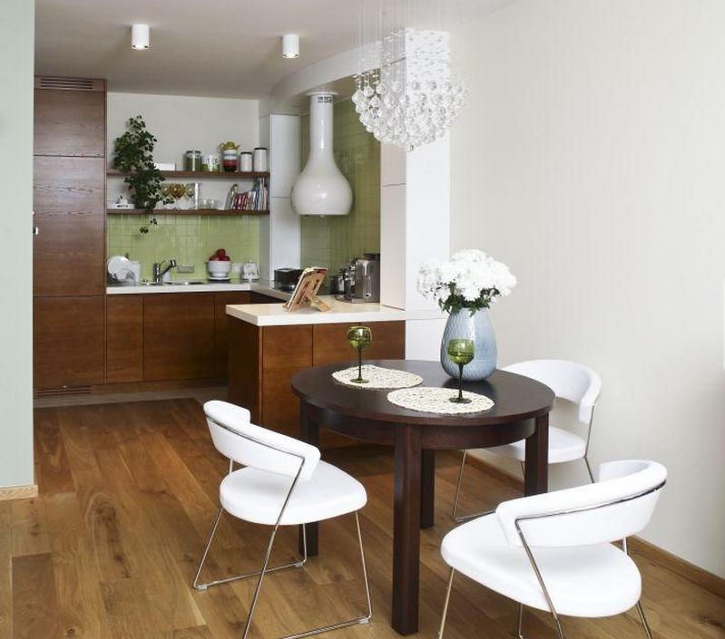 Дизайн маленькой кухни - 130 новых фото интерьера