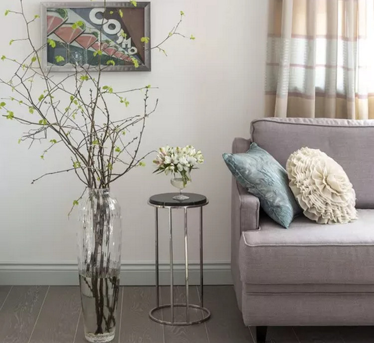 Напольные вазы для интерьера - фото декора