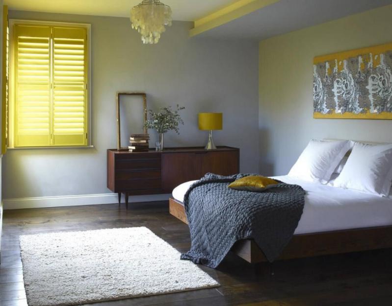 желтые стены серый пол фото это взыскания