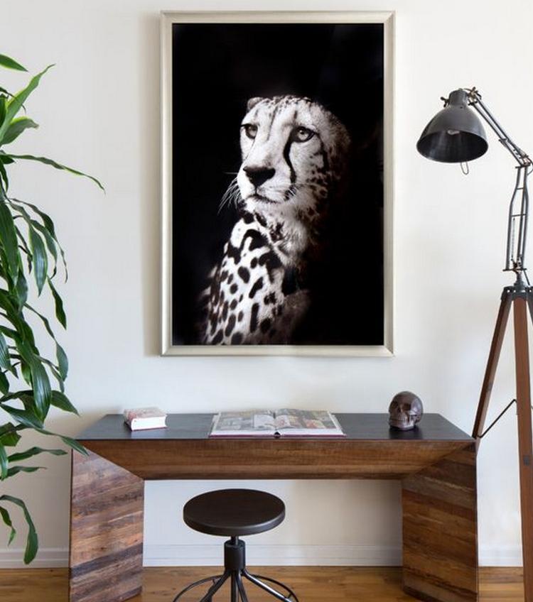 Картины в стиле лофт - фото в индустриальном интерьере